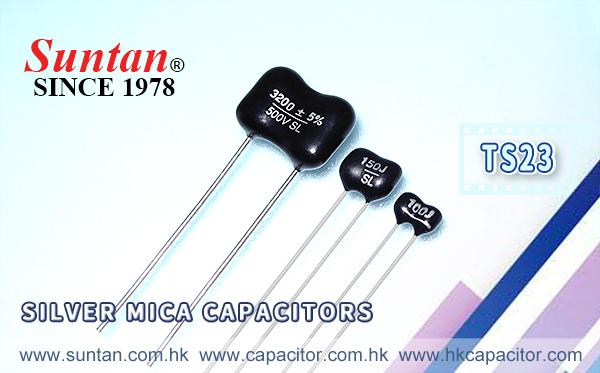 Suntan Silver Mica Capacitors – TS23
