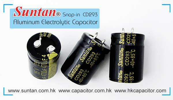 Suntan's Snap-in Aluminum Electrolytic Capacitor – CD293