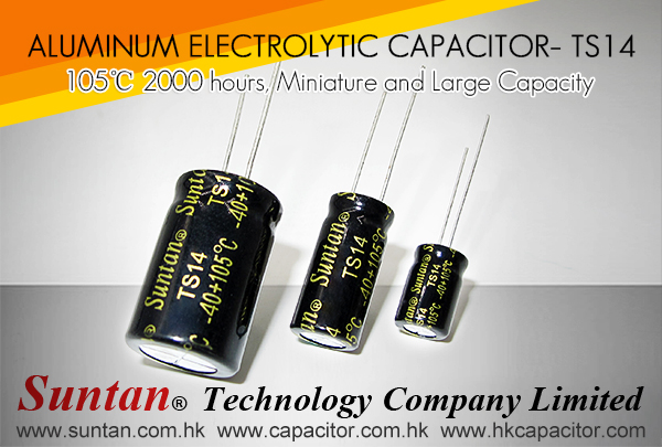 Suntan's High Temperature Aluminum Electrolytic Capacitor– TS14 Series