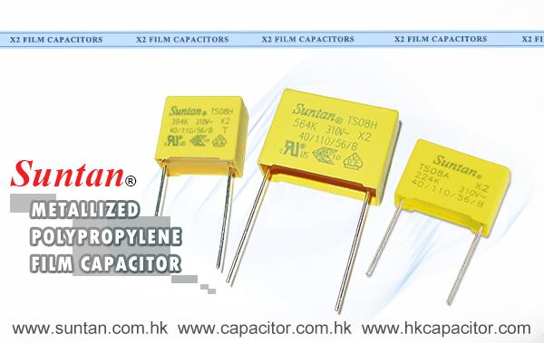 Suntan Metallized Polypropylene Film Capacitor-Class X2 Introduction