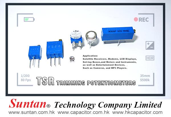 Suntan Trimming Potentiometers for precision instrument