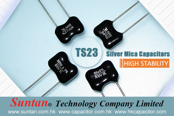 Suntan High Stability Silver Mica Capacitors- TS23